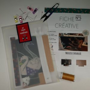 KIT COUTURE TROUSSE ZIPPEE
